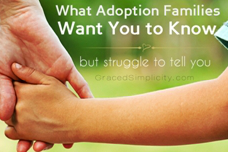 what adoption families want to know | but struggle to tell you