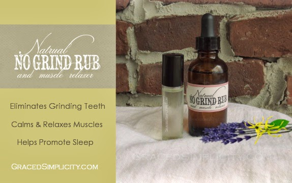 natural 'no grind rub' & muscle relaxer